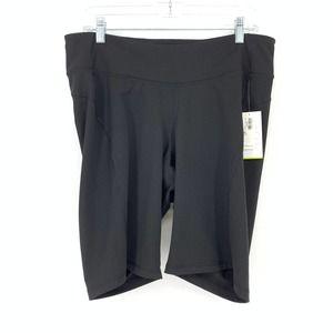 Old Navy Active 2X Bike Shorts Black NEW